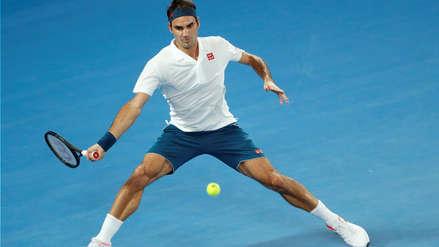 Roger Federer ganó 3-0 a Taylor Fritz y clasificó a los octavos de final del Australian Open