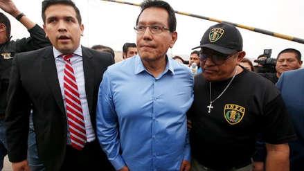 Poder Judicial dicta 5 años de prisión efectiva para Félix Moreno