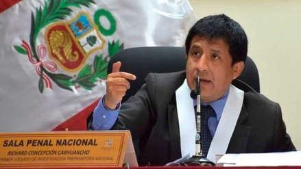 La cuestionable recusación del juez Concepción Carhuancho
