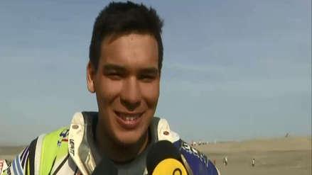 ¡Orgullo peruano! Emilio Choy, el piloto más joven del Rally Dakar 2019, quedó en el Top 10 de cuatrimotos