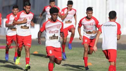 Selección Peruana Sub 20 quedó lista para el debut en el Sudamericano de Chile [FOTOS]