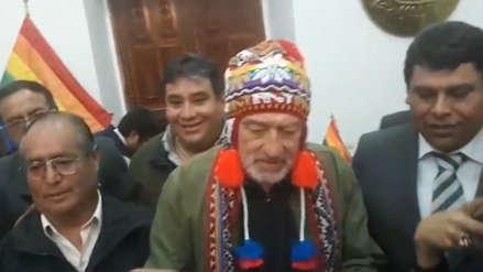 Robert de Niro recibió las llaves de la ciudad de Cusco y se puso un chullo para celebrar [VIDEO]