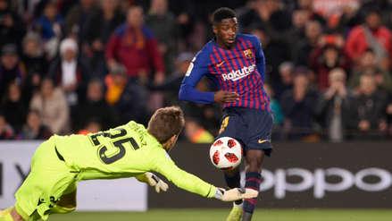 Dos goles en 1 minuto: la efectividad de Ousmane Dembélé ante el Levante