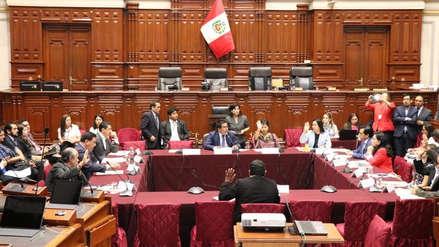 Comisión de Justicia aprobó texto sustitutorio que propone la Ley Orgánica de la Junta Nacional de Justicia