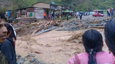 Huaico en Ayacucho: al menos dos desaparecidos y cuatro heridos en centro poblado