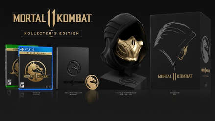 La edición coleccionista de Mortal Kombat 11 incluye una máscara de Scorpion