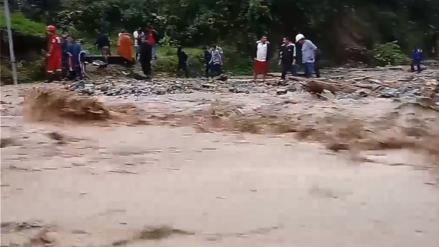 Huaico en Ayacucho: Las imágenes del desastre que dejó cuatro personas desaparecidas [VIDEO]