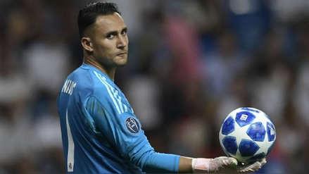 Keylor Navas sufrió lesión en el aductor y será baja contra Sevilla