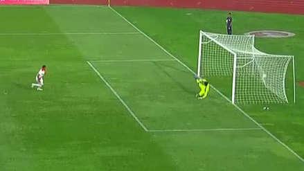 Perú vs. Uruguay: Gol de penal de Fernando Pacheco tras falta a Marcos López | VIDEO