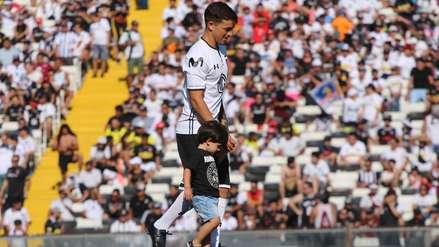 Gabriel Costa debutó con Colo Colo en la presentación del elenco chileno