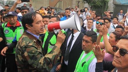 Alcalde de San Juan de Lurigancho pide a Sedapal que no cobre recibo a afectados por aniego