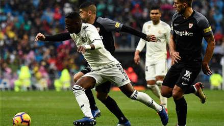 Real Madrid venció a Sevilla y avanza al tercer lugar de LaLiga Santander