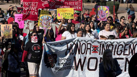 Miles de personas protestan en Washington en Marcha de Mujeres contra Trump