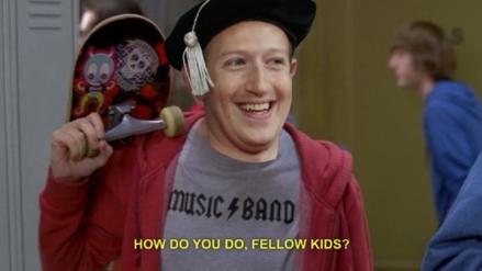 """Facebook intenta captar la atención de los niños con una """"máquina de memes"""""""