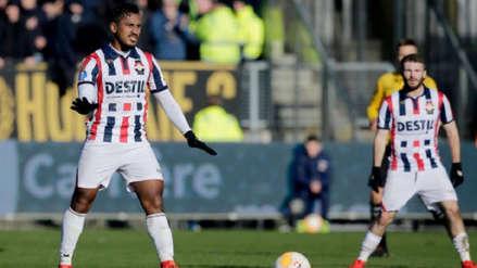 Así le fue a Renato Tapia en su debut con el Willem II
