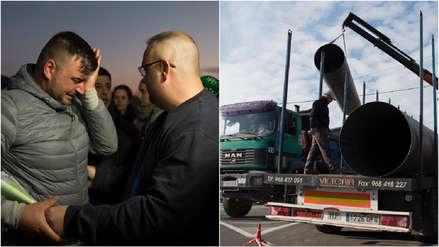 España: Nuevos elementos complican el rescate de niño caído a un pozo hace una semana