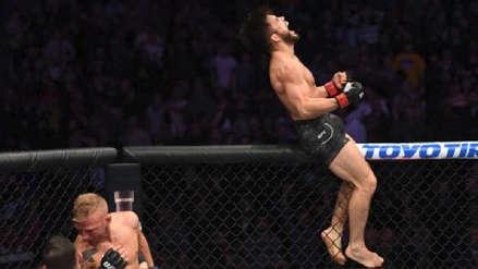 Henry Cejudo retuvo el título de peso mosca en UFC Fight Night 143 ante T.J. Dillashaw