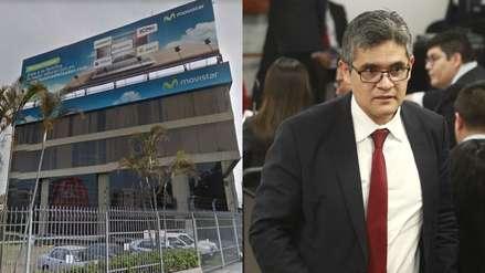 Fiscal José Domingo Pérez realizó diligencia en empresa Telefónica