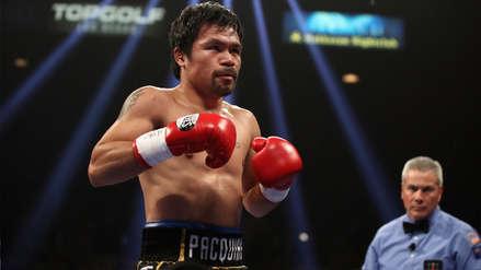 Manny Pacquiao sufrió un robo en su casa mientras peleaba  con Adrien Broner