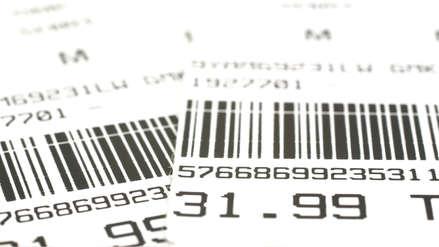 Los tickets de compra presenta sustancia vinculada al cáncer