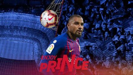 Barcelona oficializó la contratación de Kevin Prince Boateng