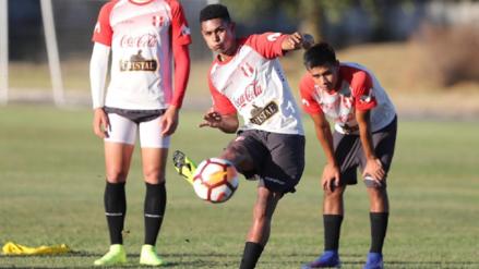 Selección Peruana Sub 20 entrenó por última vez antes de enfrentar a Paraguay [FOTOS]