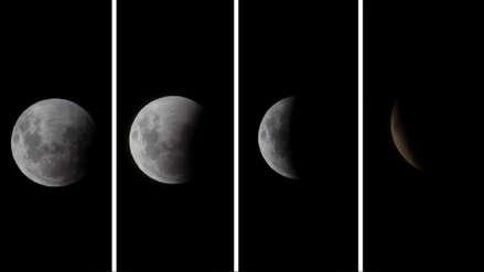 Así se vio el eclipse total de la Luna desde Lima