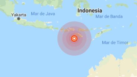 Un terremoto de magnitud 6.4 sacudió el sur Indonesia