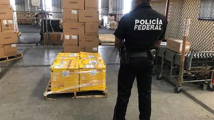 México decomisa cargamento de 100 kilos de metanfetamina enviada de Colombia