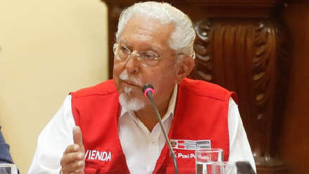 Ministro de Vivienda: Esperamos que abastecimiento de agua en SJL reanude