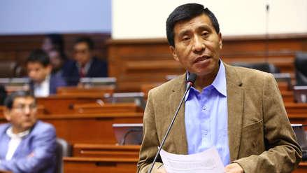 Poder Judicial envía al Congreso expediente para levantar inmunidad parlamentaria de Moisés Mamani