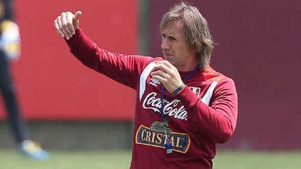 Selección Peruana Sub 20 | Ricardo Gareca llegó a Talca y estará en el partido de la Bicolor ante Paraguay