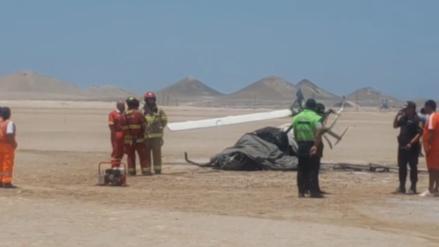 Caída de helicóptero de instrucción del Ejército en Ilo deja dos muertos