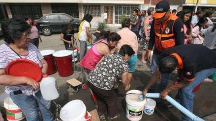 Sedapal: Hoy empezará restablecimiento del servicio de agua en San Juan de Lurigancho