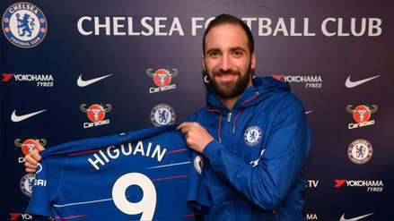 Gonzalo Higuaín se convirtió en nuevo jugador del Chelsea