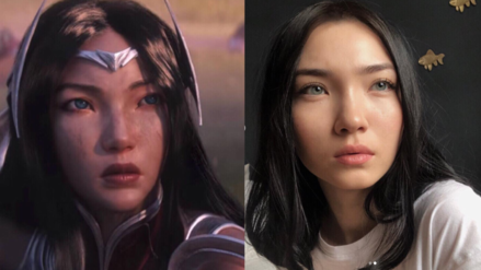 ¿Coincidencia? Modelo se pronuncia tras ser comparada con personaje de League of Legends