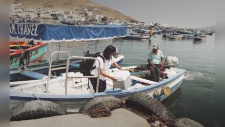Pescadora artesanal fomenta la pesca responsable y sostenible en el Perú