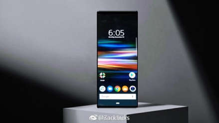Así luce: Se filtra una foto del Sony Xperia XZ4