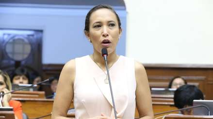 Congresista Paloma Noceda se incorpora a la bancada de Acción Popular