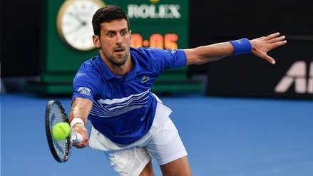 Australian Open | Novak Djokovic avanzó a semifinales tras abandonó de Kei Nishikori