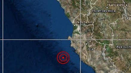 Sismo de magnitud 4.5 sacudió Pisco esta madrugada