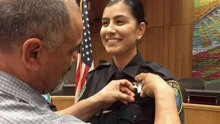 """""""Era una policía perfecta"""": El trágico final de una policía latina en EE.UU. que atendió un accidente de tránsito"""