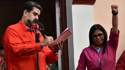 """Delcy Rodríguez: Mike Pence está haciendo un llamado abierto """"a un golpe de Estado"""""""