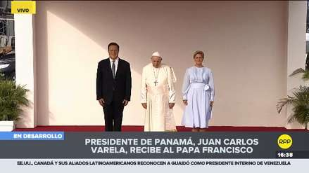 Francisco llegó a Panamá en plena crisis venezolana