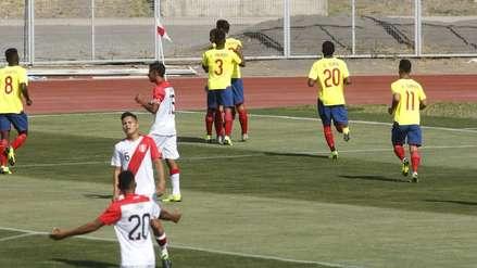 Perú perdió ante Ecuador y complicó sus opciones para llegar al hexagonal final