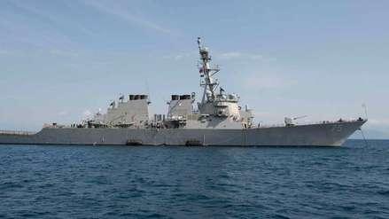 Tensión entre Rusia y EE.UU. por presencia de destructor estadounidense cerca a su costa