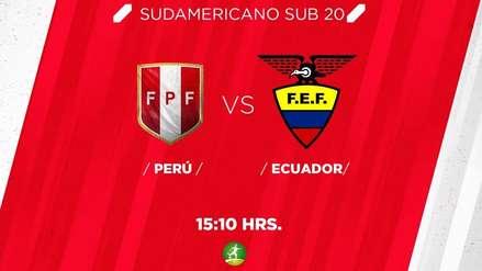 Perú vs. Ecuador: RPP Noticias transmite el tercer partido de la bicolor en el Sudamericano Sub 20
