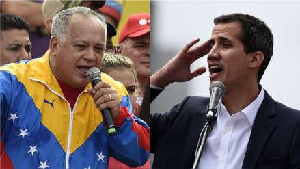 Diosdado Cabello dice que se reunió con Juan Guaidó antes que se autoproclamara presidente