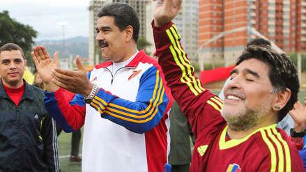 Diego Maradona respalda
