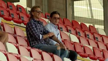 Selección Peruana Sub 20 | Ricardo Gareca estuvo presente en la derrota de la Bicolor